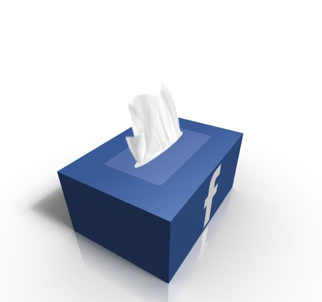 FaceBook Tissue Box Packaging Design