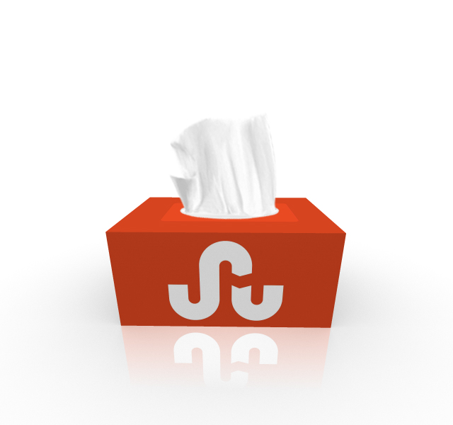 Stumbleupon Tissue Box Design