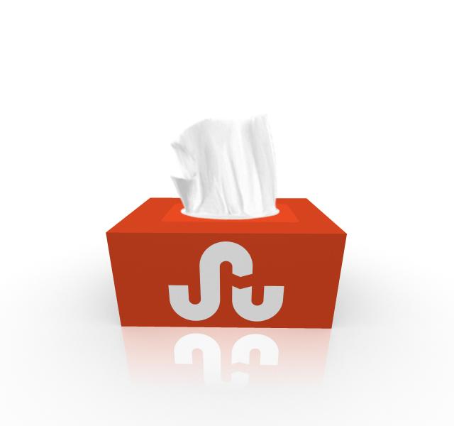 Stumbleupon Tissue Box Design