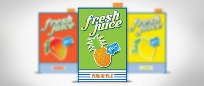 Juice Packaging Design Templates
