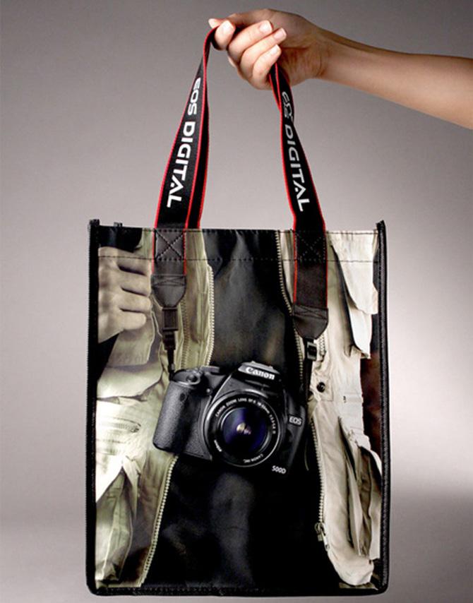 Canon Eos Bag Design