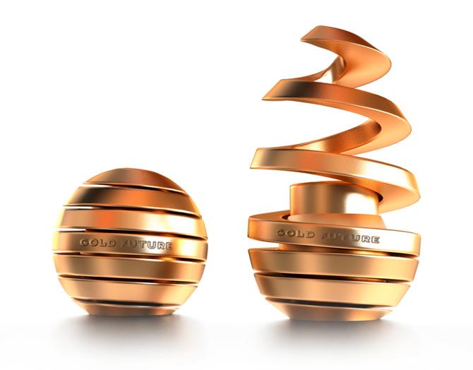Gold Future Packaging Design