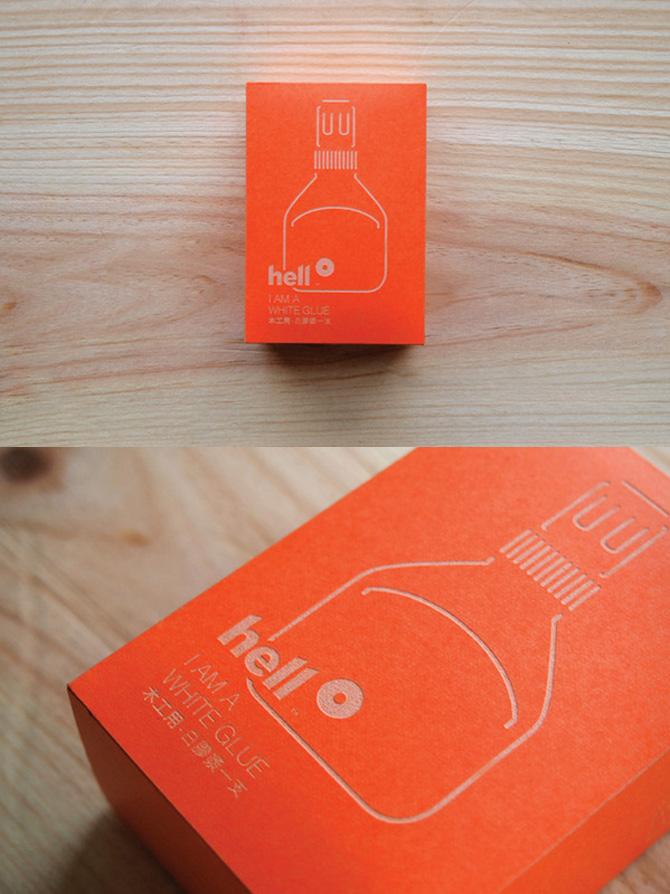 Hello Glue Packaging