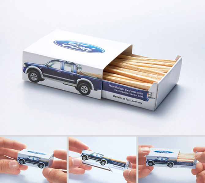 Honda Ford Match Stick Box
