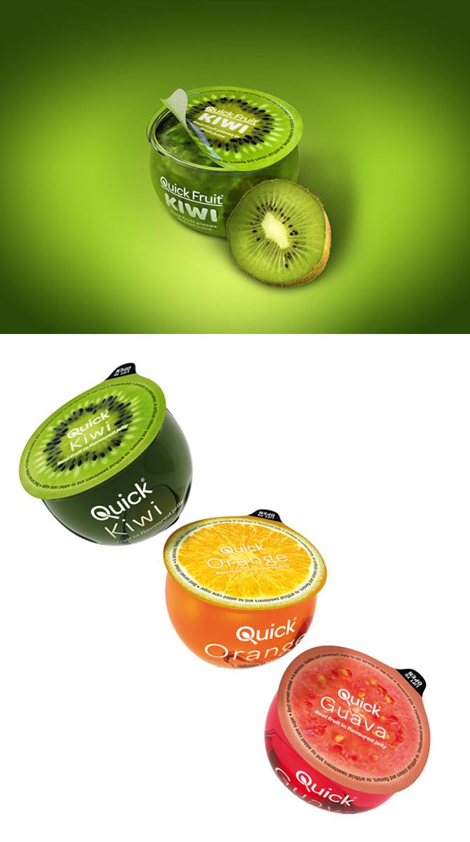 Quick Fruit packaging design