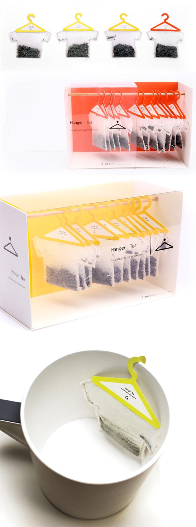 hanger tea Packaging