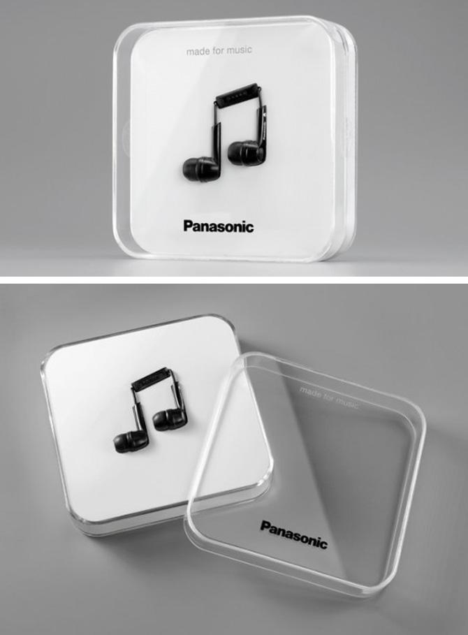 panasonic Note Packaging Box