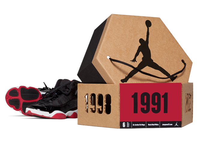 Air Jordon Shoe Box Packaging