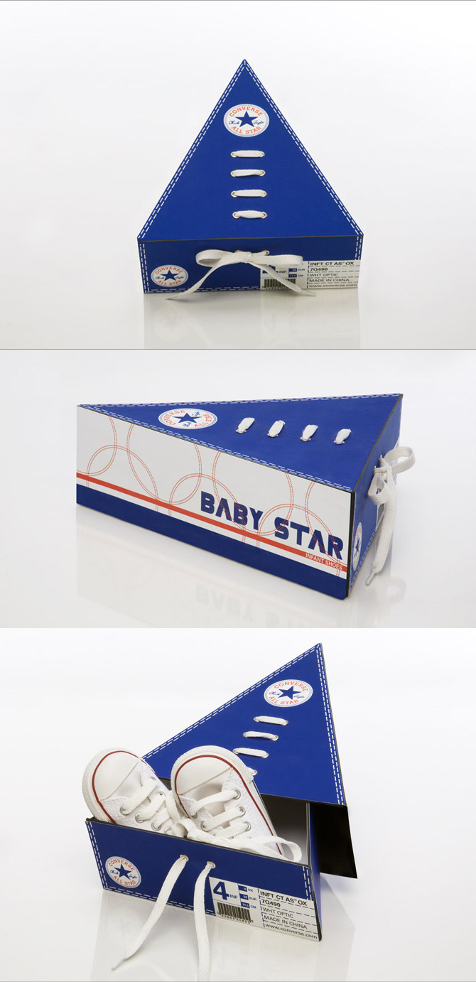 Baby Star Shoe Packaging