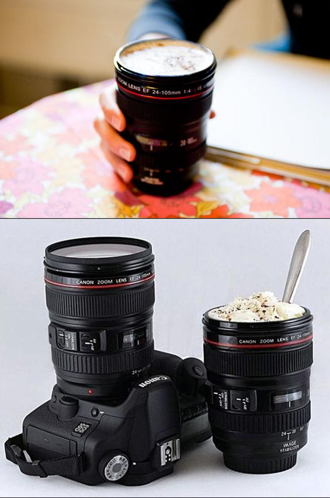 Camera Lenz Mug