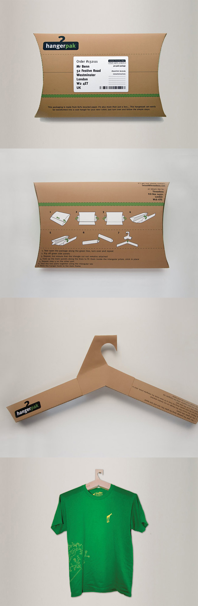 HangerPak hanger packaging