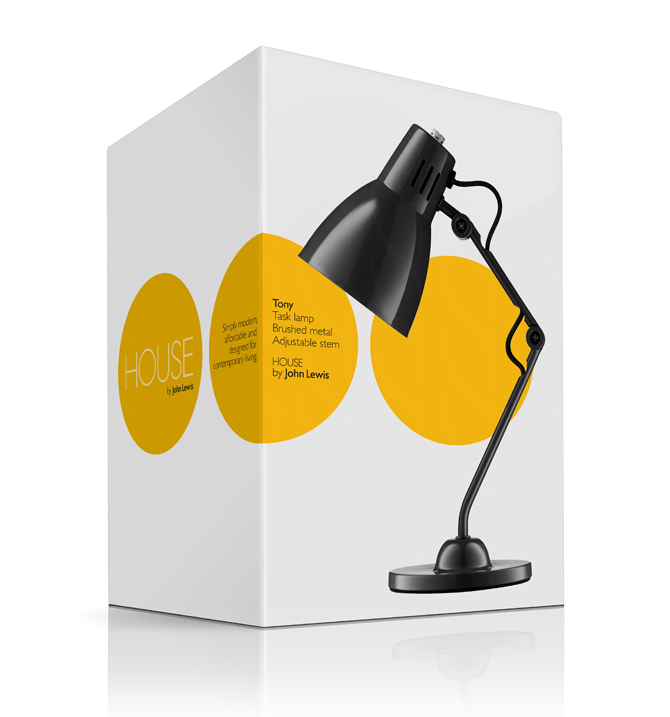 House Lamp packaging