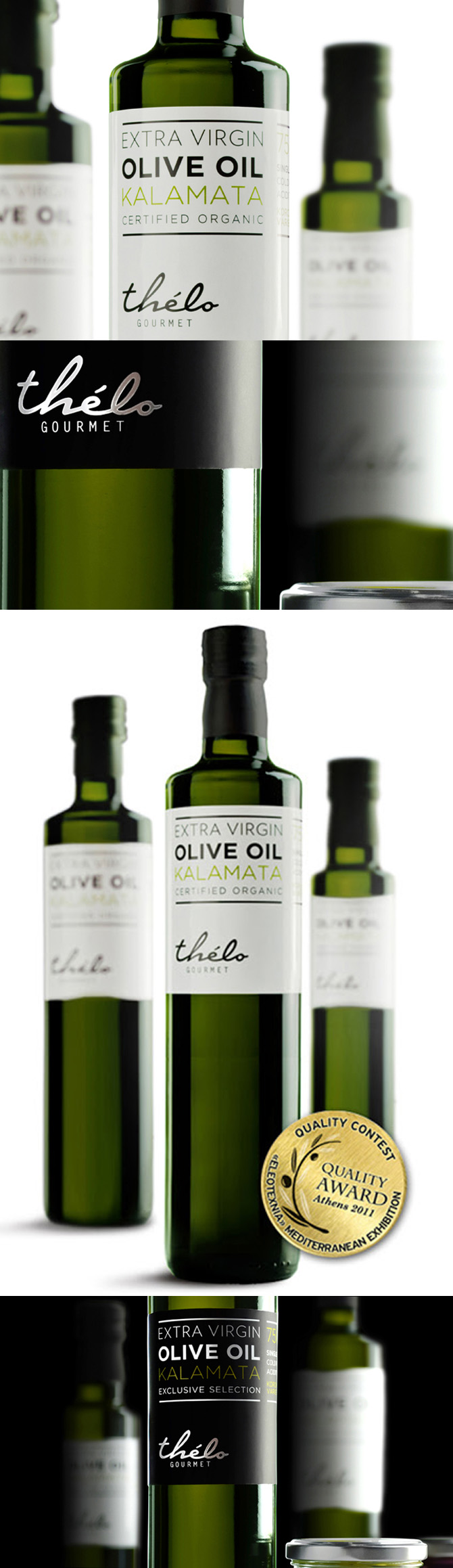Thelo olive oil packaging
