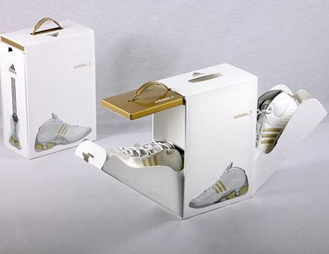 addidas packaging design
