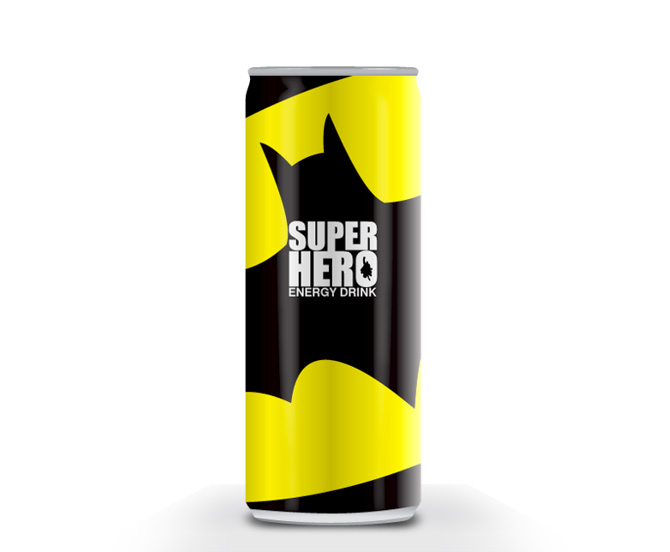 batman superhero packaging