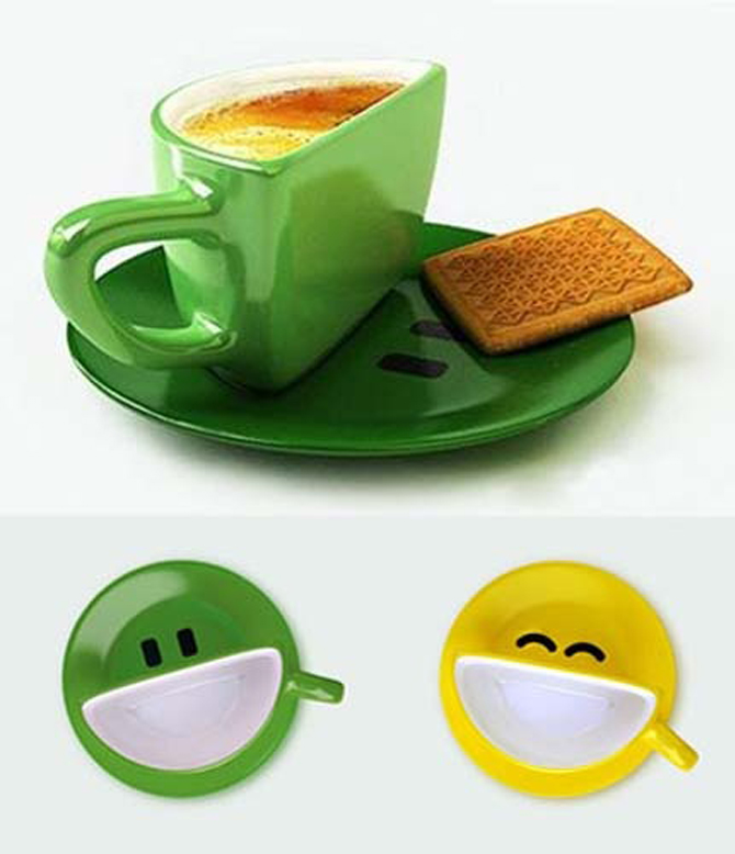 smiley cups