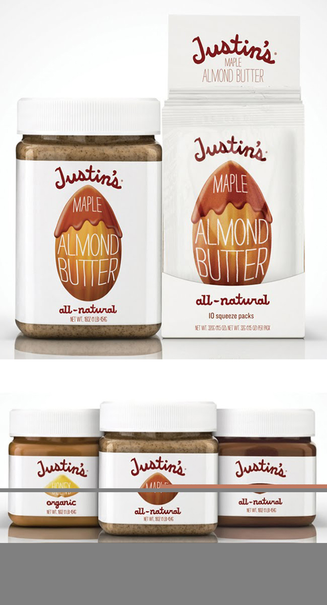 Justin's butter jar packaging