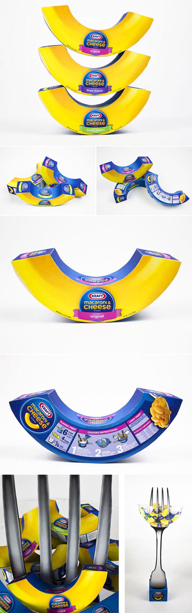 Kraft cheese packaging