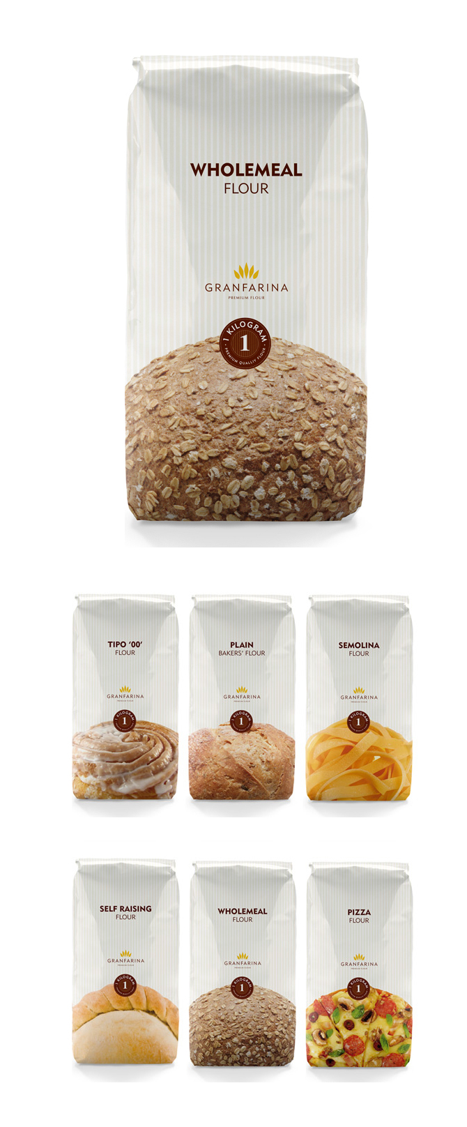 flour product packaging