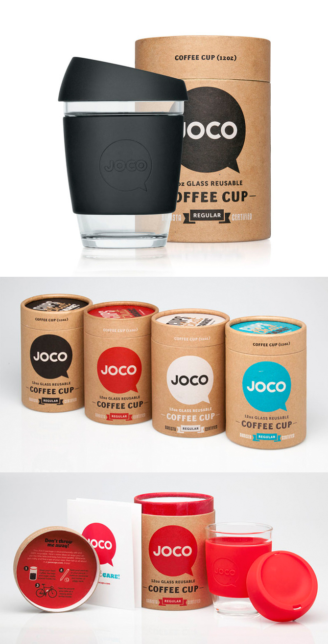 Joco coffee packaging